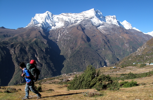 angin above namche
